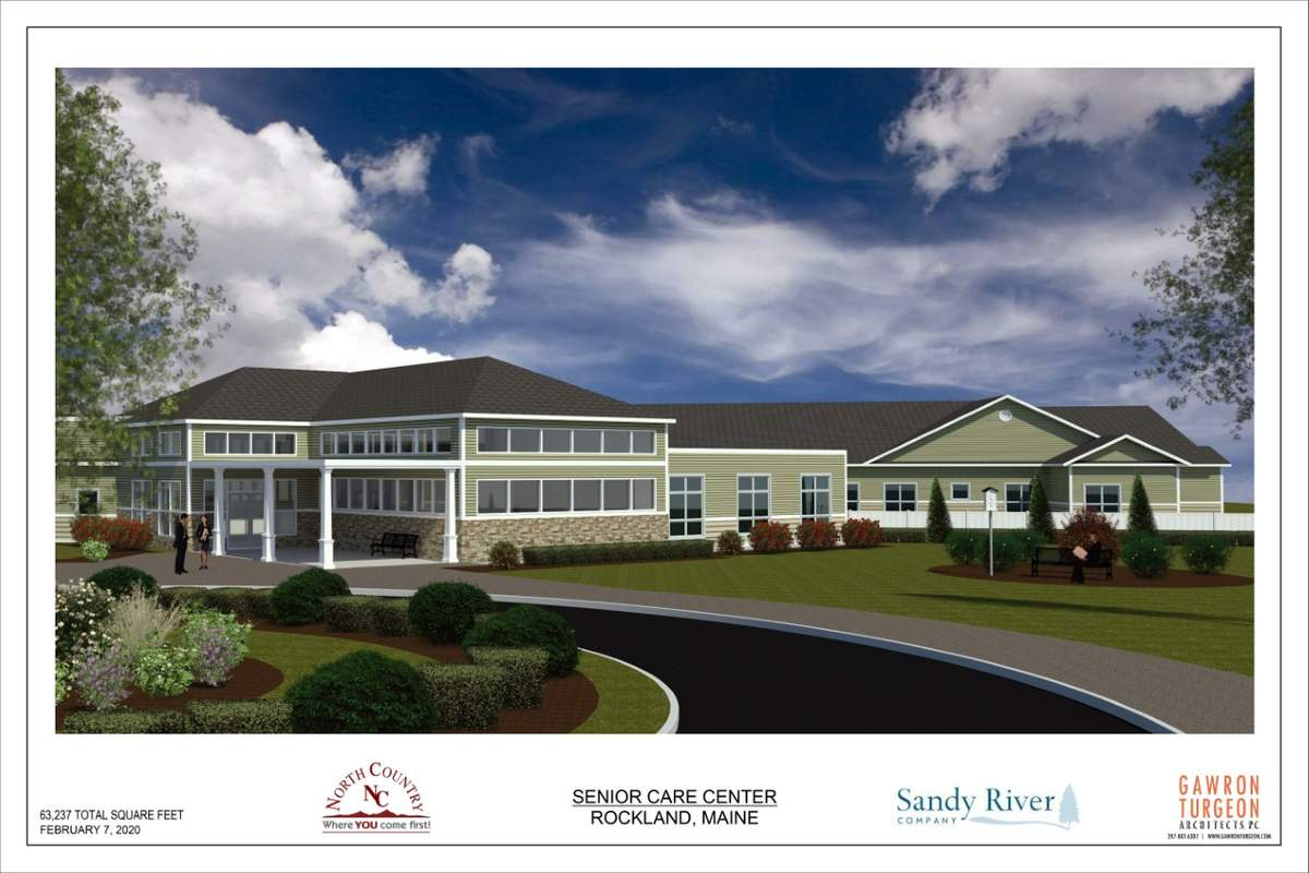Proposed Senior Care Center in Rockland, Maine